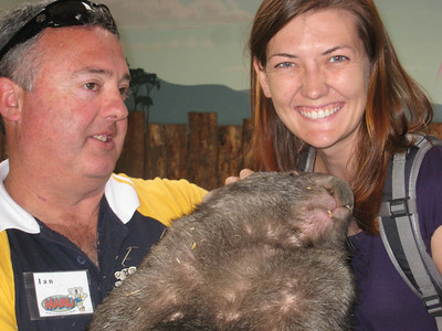 The Wombat was soo Sweet!