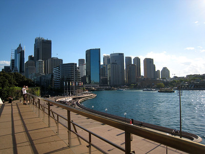 Circular Quay in Sydney Harbor
