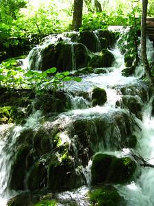 Rushing Water over rocks