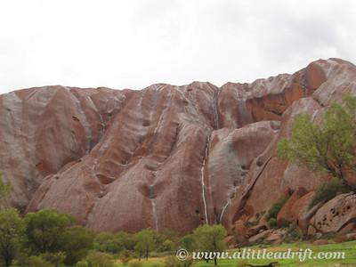 Uluru's Rainy Day waterfalls
