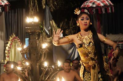 Cultural Dance show in Ubud, Bali.
