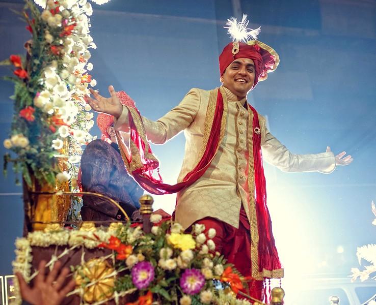 handsome groom bollywood style - sahil on hsi wedding day