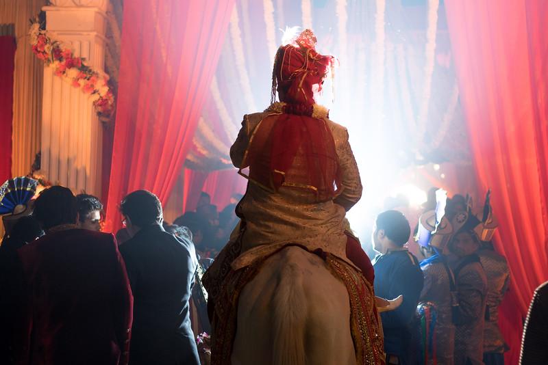 groom entry - divya weds anupras