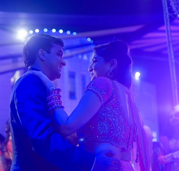 dancing couple - sahil and vasudha
