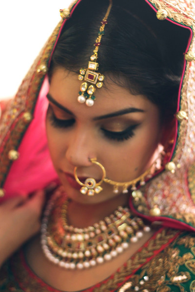 shy bride - pribridal photography