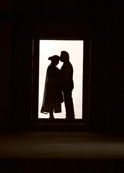 silhouette pre wedding photography india