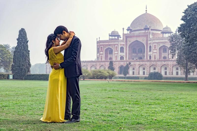 Pre wedding shoot at Humanyu Tomb