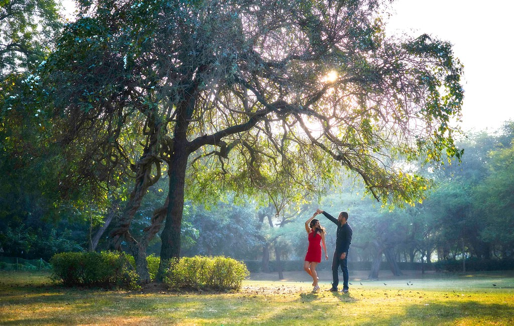 prewedding shoot at lodhi gardens