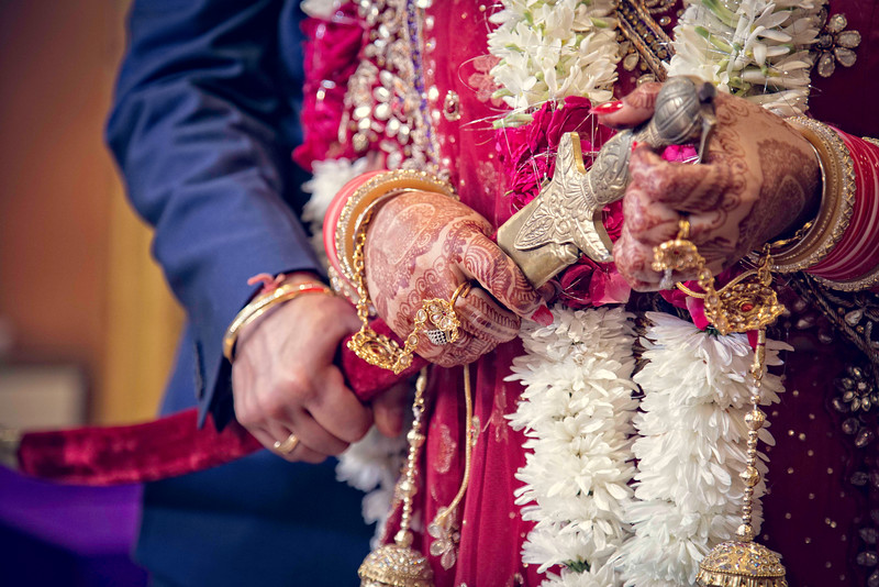 Sikh Couple Wedding Photography