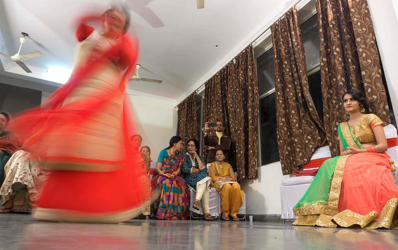 sangeet ceremony - divya's wedding