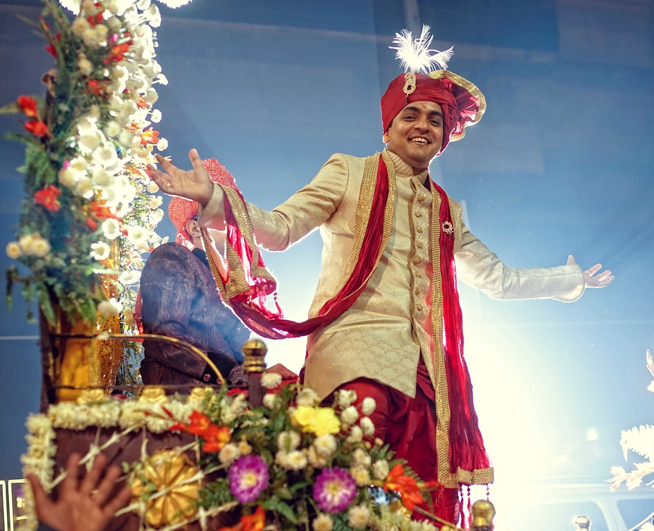 Handsome Groom Bollywood Style