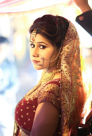 bride entry in indian wedding