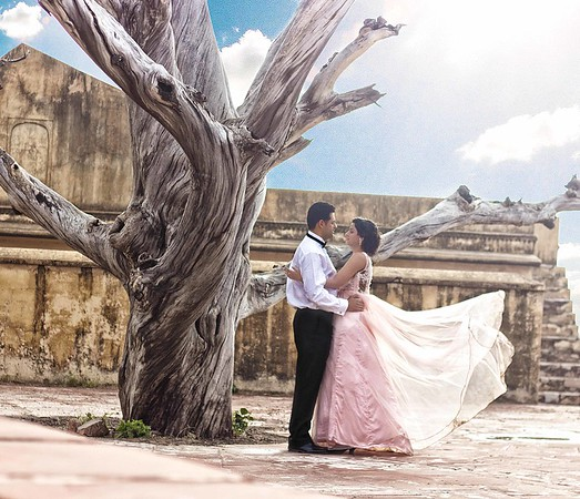 Pre wedding shot at nahargarh fort Jaipur