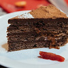 buckwheat chocolate cake