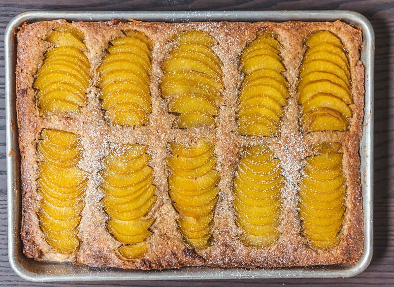 Frangipane Tart with Pluots
