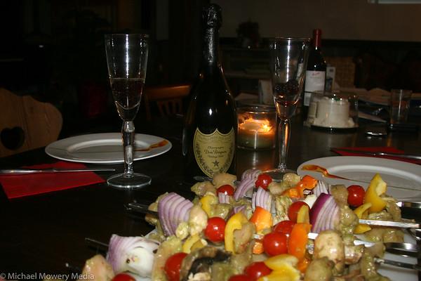 Valentines Day Dinner 2010