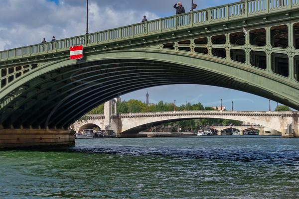 le ponts et la Seine
