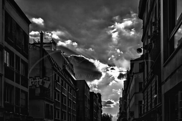 le ciel sur Paris | the sky above Paris