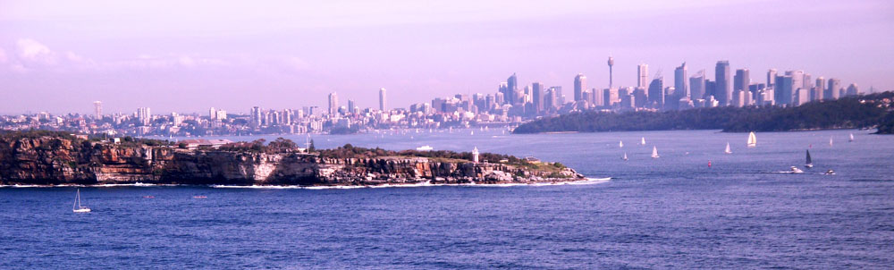 Sydney from North Head 2010