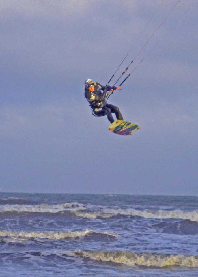 Kitesurfer Devon UK 2009