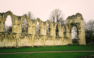 Ruined Abbey Yorkshire UK 2004