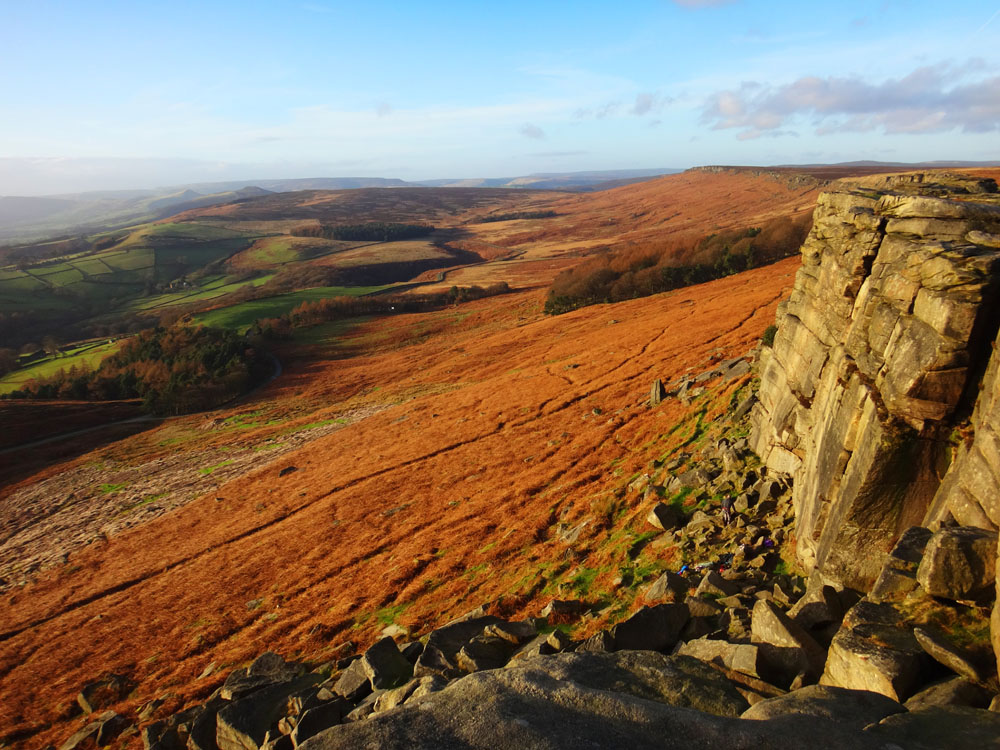 Stanage Edge, Peak District, UK, December 2015