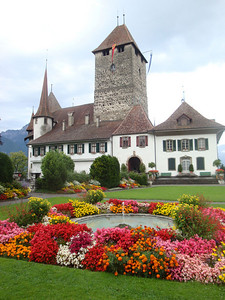 Spiez chateau Switzerland 2009