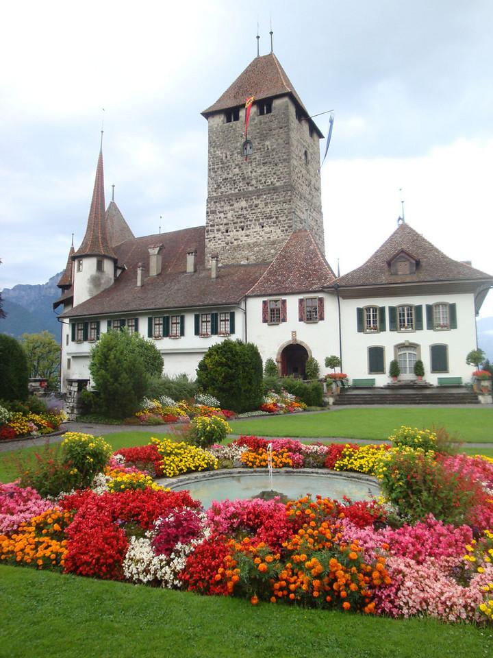 Spiez chateau Switzerland 2009