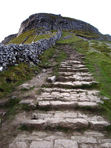In 2010 we were ready for the Vegan 15 Peaks Challenge (see www.vegan15peaks.info for more pics and stories). To be allowed by our Lupine Adventure guides to attempt all 15 Welsh 3,000 foot summits in the same 24 hour period, we first had to successfully complete the Yorkshire 3 Peaks Challenge. This was the descent from Pen-y-Ghent - our final summit - after a very long day.