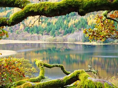 Llyn (Lake) Crafnant, Snowonia, Wales, 2012