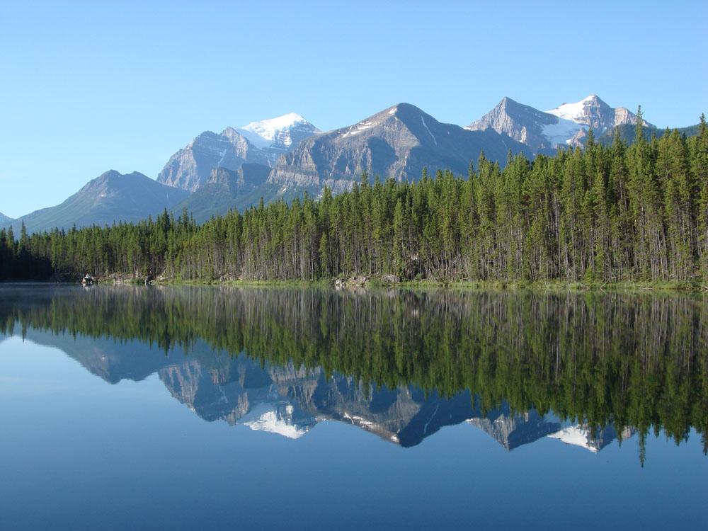 Waterfowl Lake 1 Rockies Canada 2008