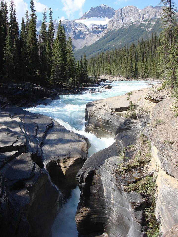 Mistaya Canyon Rockies Canada 2008