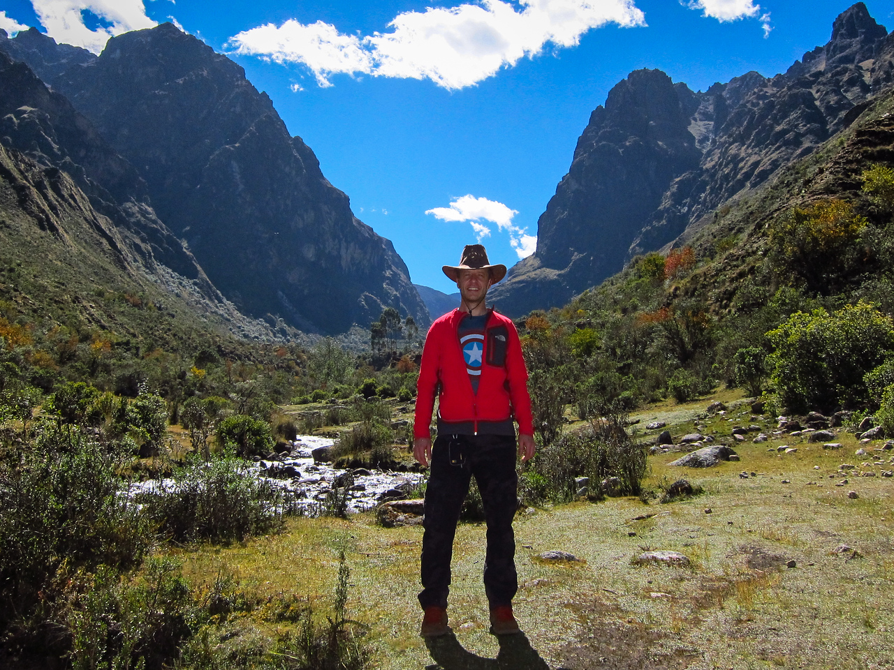 Pumahuanca Valley - at about 2 hours in.