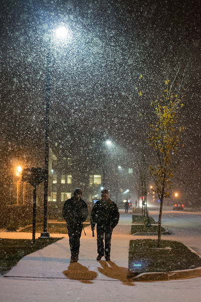 First Snow at Purdue - 2014