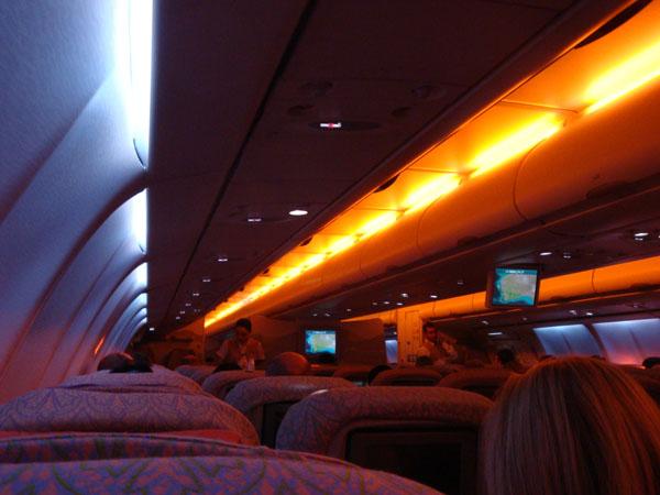 Flying Emirates Indian Ocean 2009