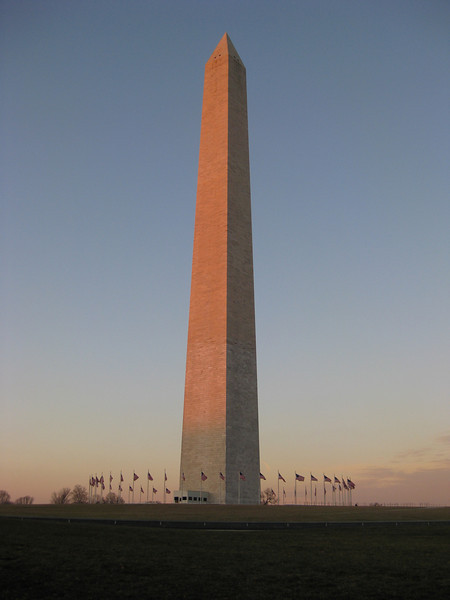 Washington Monument at Sunrise - Washington DC