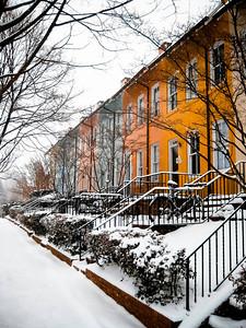 Colorful Rowhouses, Georgetown - Washington DC