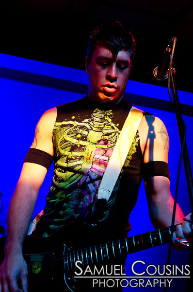 """The Blood Capsules"" at Space Gallery's Halloween 2011 party"