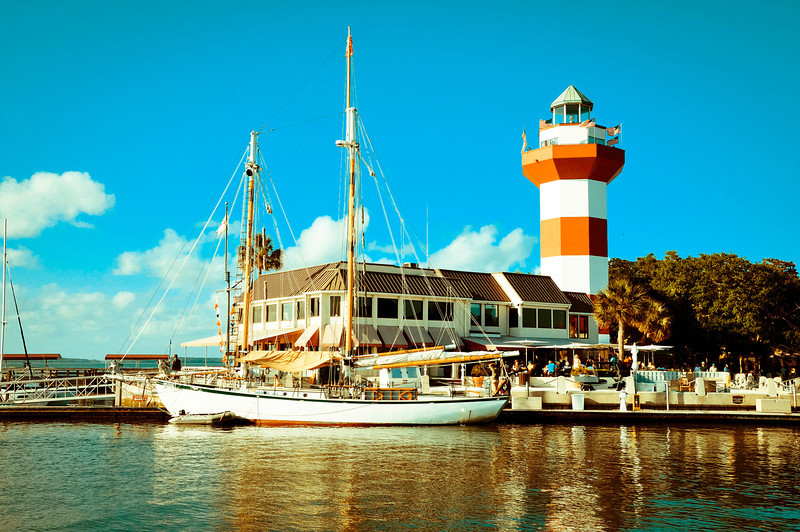 Harbor Town Lighthouse - Hilton Head Island South Carolina