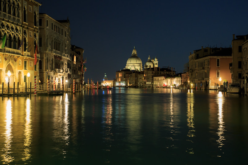 The Grand Canal and the St. Maria of Salute Basilica