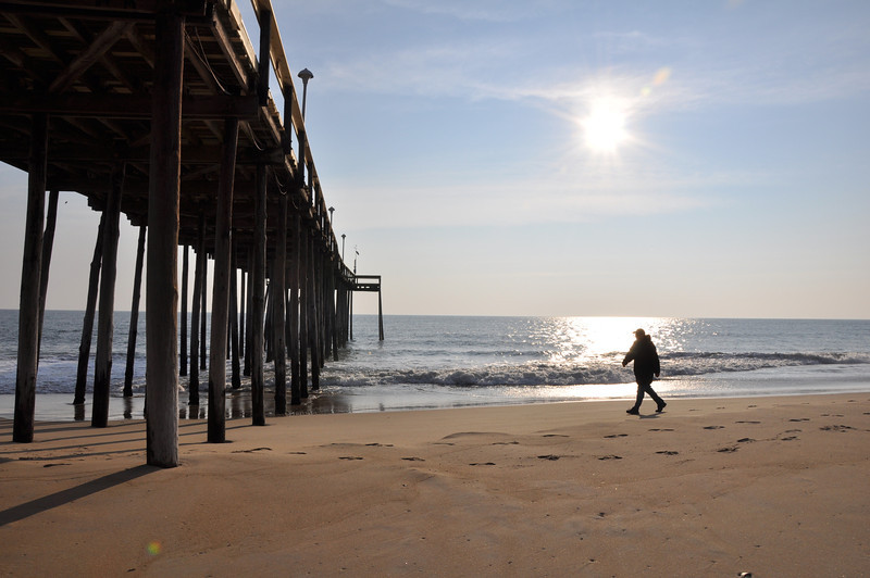 Fishing Pier - Ocean City Maryland