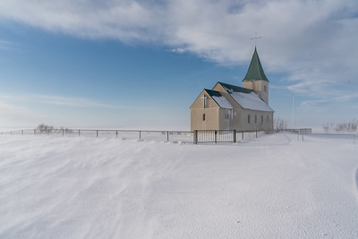 The Church of Fáskrúðarbakki