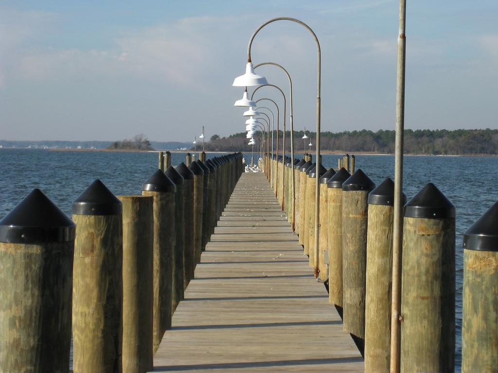 Dock at the Rusty Rudder - Dewey Beach Delaware
