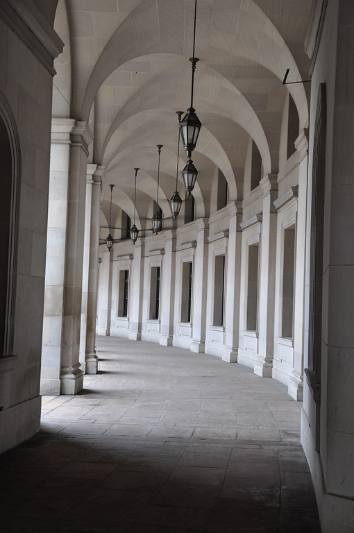 Walkway at Federal Triangle - Washington DC