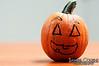 Halloween pumpkin at Via's open house.