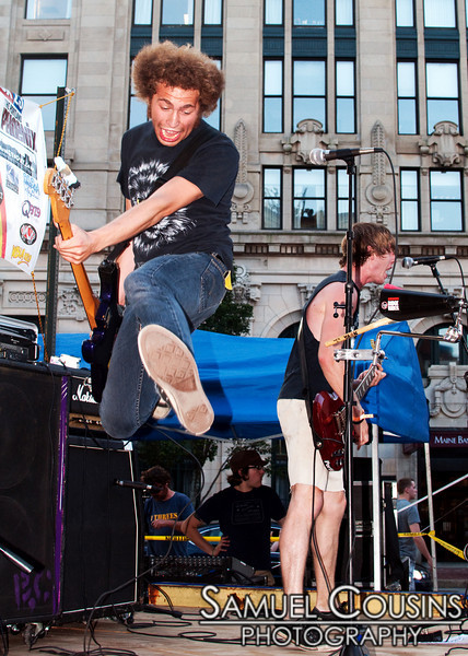 The Leftovers, as part of Alive at Five, at the Alive at Five concert series in Monument Square.