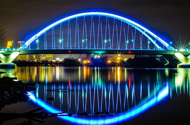 Lowry Ave bridge, NE Minneapolis