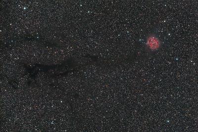IC5146   The Cocoon nebula