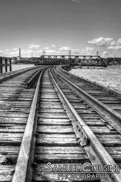 Railroad Bridge on the East End