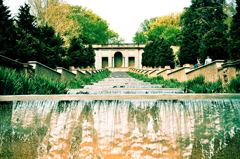 Fountain at Meridian Hill Park - Washington DC